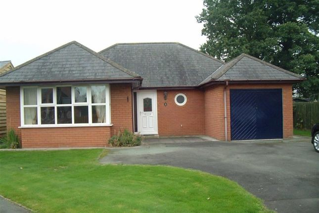 Thumbnail Detached bungalow to rent in 9, Birch Close, Four Crosses, Llanymynech, Powys