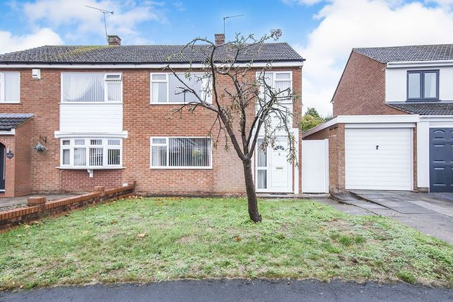 Thumbnail Semi-detached house for sale in Willow Drive, Countesthorpe, Leicester