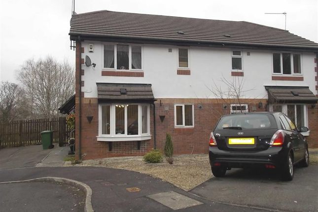 Thumbnail Terraced house to rent in Cefn Close, Glyncoch, Pontypridd