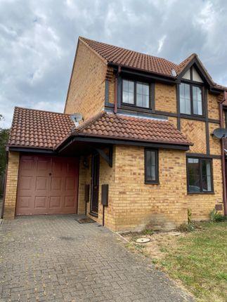Thumbnail Semi-detached house to rent in Greystonley, Emerson Valley, Milton Keynes