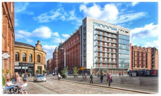 1 bedroom flat for sale in Bell Street, Merchant City, Glasgow