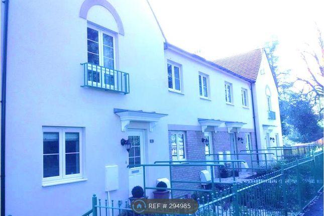 Thumbnail Terraced house to rent in Sir Bernard Lovell Road, Malmesbury