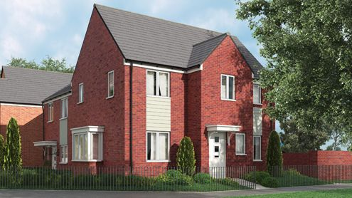 Scotswood CGI of Wedgewood Avenue, West Bromwich B70