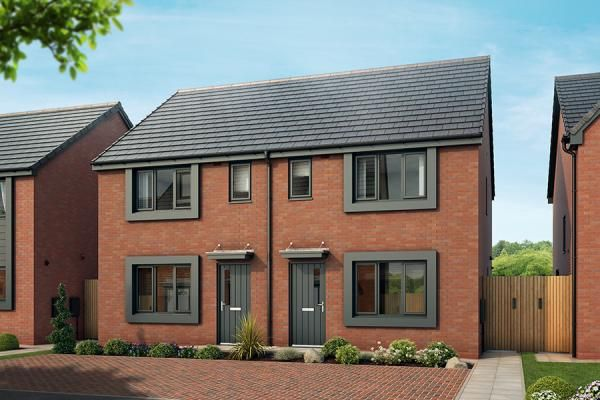 "Thumbnail Property for sale in ""The Leathley At The Parks Phase 5 "" at Glaisher Street, Everton, Liverpool"