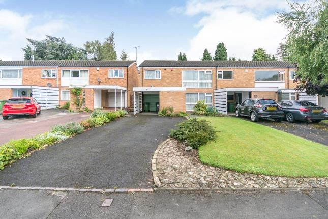 Thumbnail Terraced house for sale in Milcote Road, Solihull, West Midlands