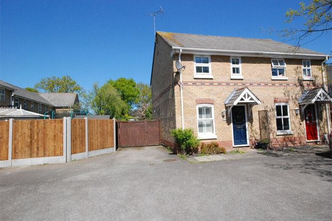 Thumbnail Semi-detached house for sale in Chinook, Highwoods, Colchester, Essex