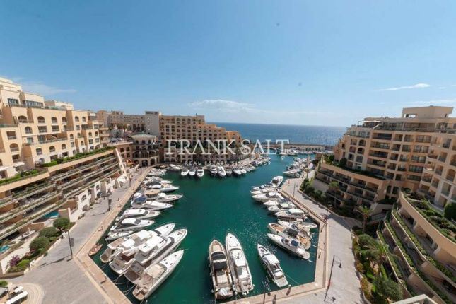 Thumbnail Apartment for sale in Apartment In Portomaso St Julians, Apartment In Portomaso St Julians, Malta