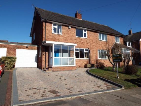 Thumbnail Semi-detached house for sale in St. Denis Road, Birmingham, West Midlands