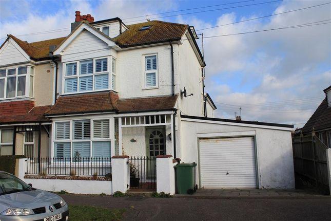 Thumbnail End terrace house for sale in Seaville Drive, Pevensey Bay, Pevensey