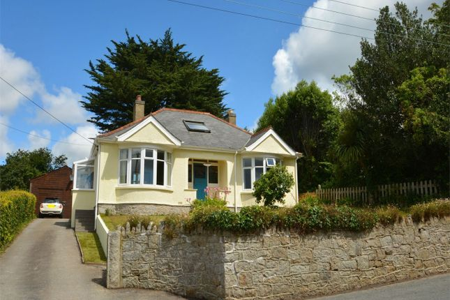 Thumbnail Detached bungalow for sale in Mylor Bridge, Falmouth, Cornwall