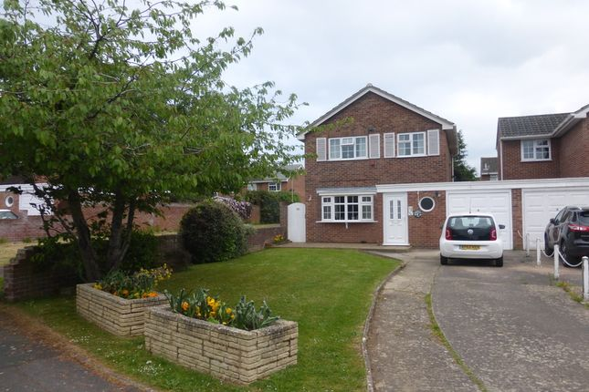 Thumbnail Detached house for sale in Hawk Close, Abbeydale, Gloucester