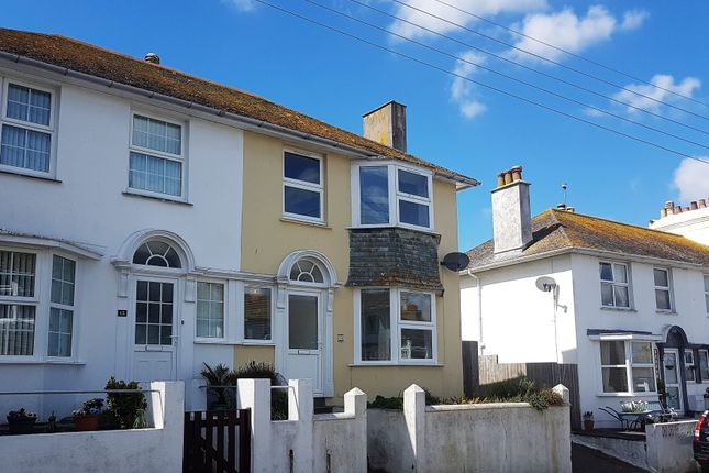 Thumbnail End terrace house for sale in Park Road, Newlyn, Penzance