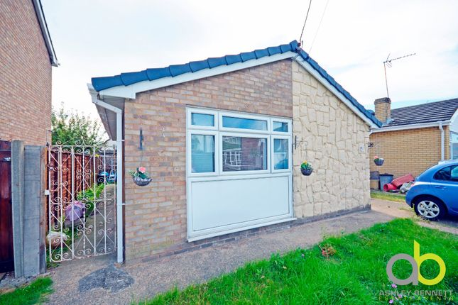 Thumbnail Detached bungalow for sale in Hallet Road, Canvey Island