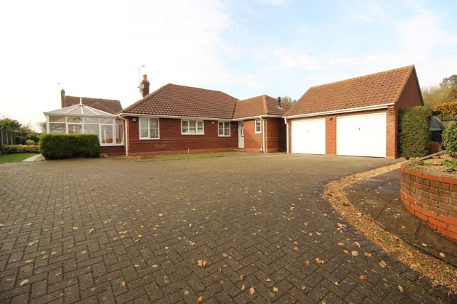 Thumbnail Detached bungalow for sale in Squires Road, Halvergate