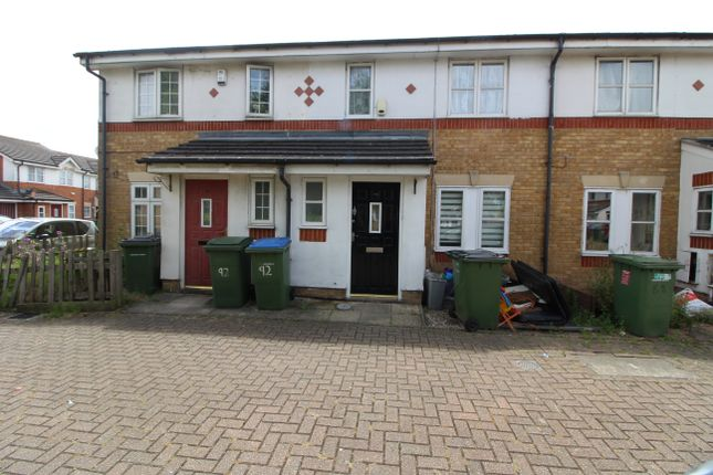 Thumbnail Terraced house to rent in Birchdene Dr, Central Thamesmead