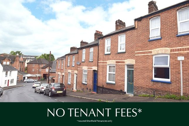 Thumbnail Terraced house to rent in Radford Road, St. Leonards, Exeter