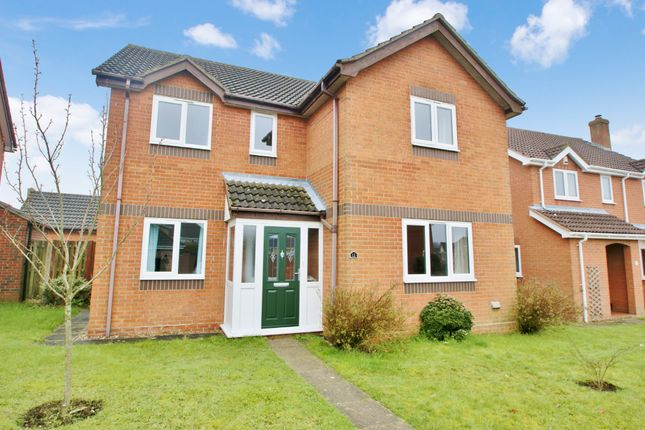 Thumbnail Detached house for sale in Gordon Godfrey Way, Horsford, Norwich