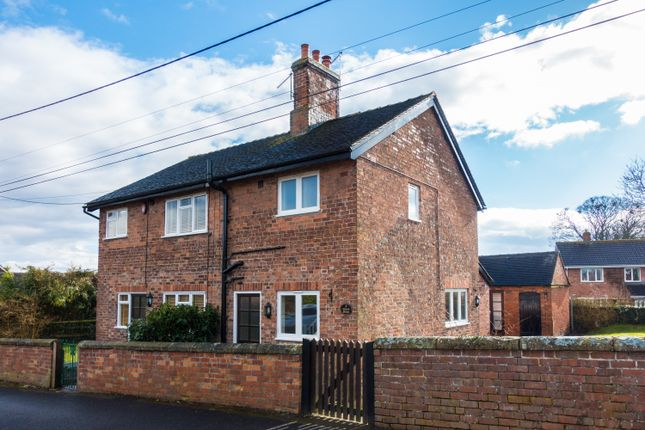 Thumbnail Cottage to rent in Church Street, Ightfield, Whitchurch, Shropshire