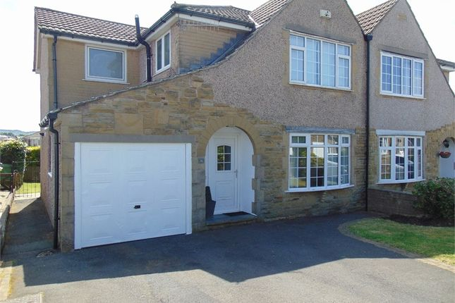 Thumbnail Semi-detached house for sale in Townfield Avenue, Worsthorne, Burnley, Lancashire
