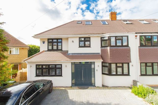 Thumbnail Semi-detached house for sale in Oak Lodge Avenue, Chigwell