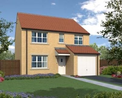 "Thumbnail Detached house for sale in ""The Crathorne"" at Tees Road, Hartlepool"