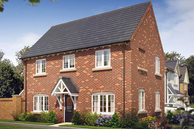 Thumbnail Detached house for sale in The Baslow, Radbourne Lane, Nr Derby, Derbyshire