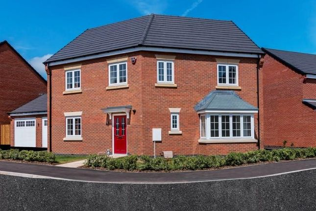Thumbnail Detached house for sale in Castle Hill Road, Anstey, Leicester