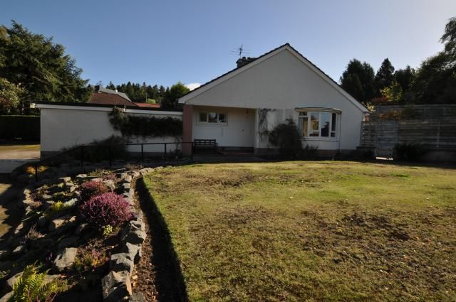 Thumbnail Bungalow for sale in Suil-Na-Mara, Alexandra Terrace, Forres