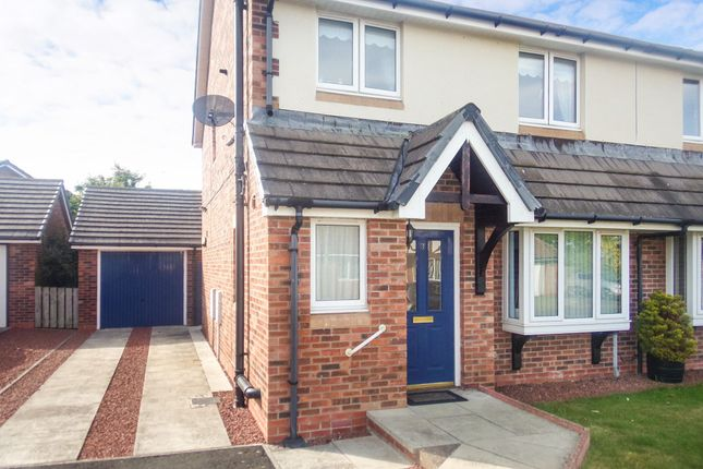 Thumbnail Semi-detached house for sale in Croft Way, Belford