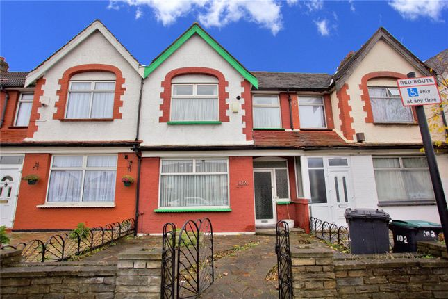 Thumbnail Terraced house to rent in Great Cambridge Road, London