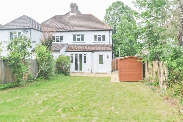 Thumbnail Semi-detached house to rent in Spring Gardens, Chelsfield, Orpington