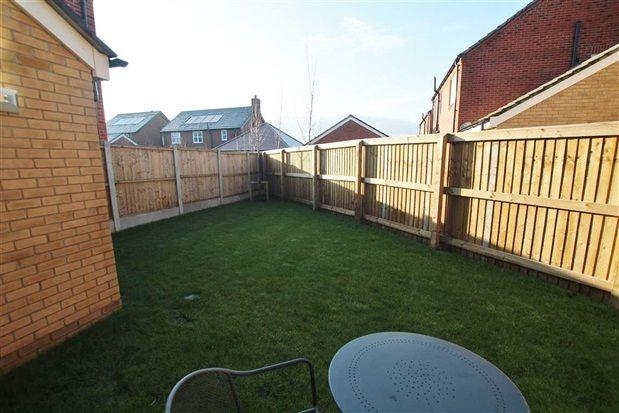 Rear Garden of Barley Close, Cottam, Preston PR4