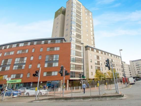 Thumbnail Flat for sale in Aquila House, Falcon Drive, Cardiff, Caerdydd