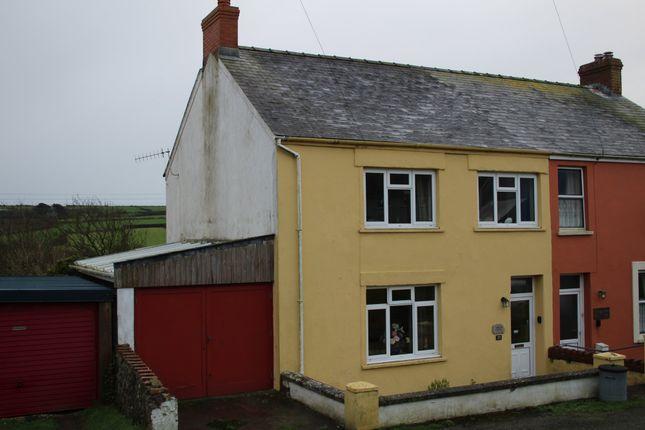 Thumbnail Semi-detached house for sale in Ffordd Y Felin, Trefin, Haverfordwest