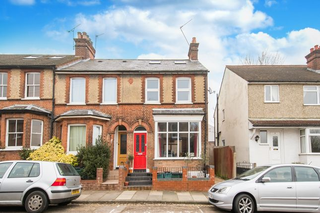 Thumbnail End terrace house to rent in Hart Road, St.Albans
