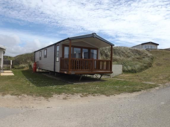 Covered Balcony of Perran Sands Holiday Park, Perranporth, Cornwall TR6