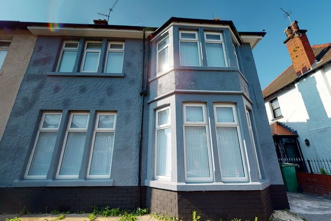 Thumbnail Semi-detached house for sale in Newport Road, Cardiff
