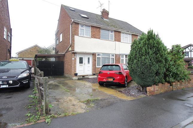 Thumbnail Semi-detached house for sale in Bowers Road, Benfleet