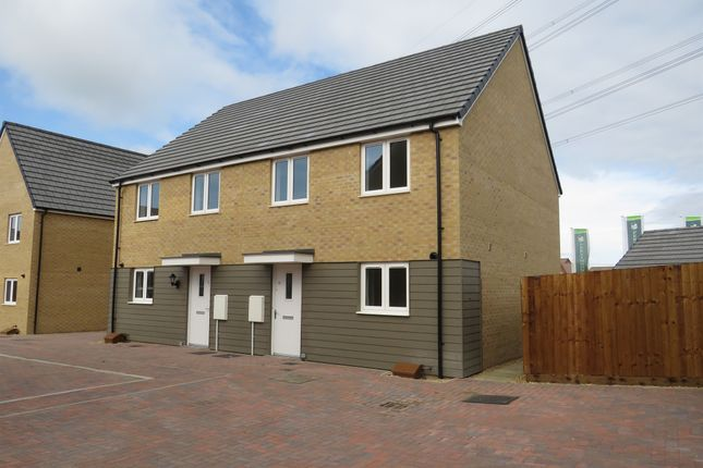 Thumbnail Semi-detached house for sale in Puffin Place, Leighton Buzzard