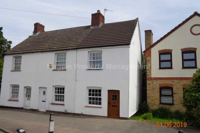 Thumbnail Semi-detached house to rent in Great North Road, Eaton Socon, St. Neots
