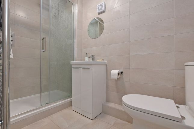 New Shower Room of Flat 4 Beechfield House, Broomhall Road, Sheffield S10