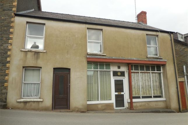 Thumbnail End terrace house for sale in Station Road, Tregaron