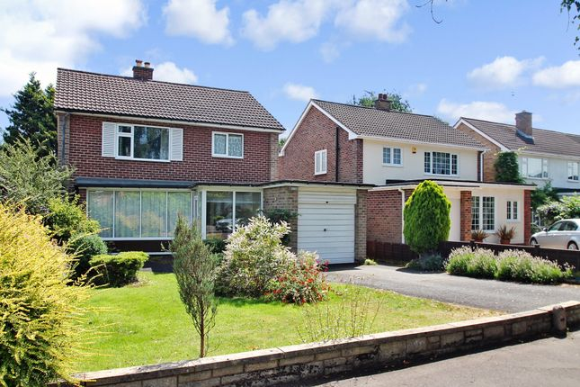 Thumbnail Detached house for sale in Woodlea Drive, Solihull