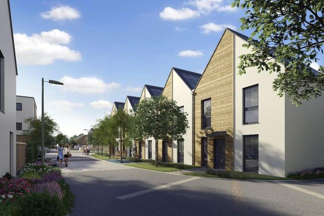 Thumbnail End terrace house for sale in Charlotte Avenue, Elmsbrook Phase 2, Bicester