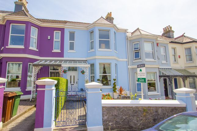 Thumbnail Terraced house for sale in Hermitage Road, Mannamead, Plymouth
