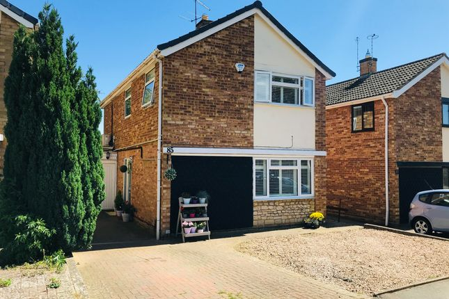 Thumbnail Detached house for sale in Glyndebourne Gardens, Corby