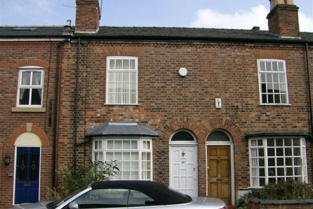 Thumbnail Terraced house to rent in Byrom Street, Hale, Cheshire