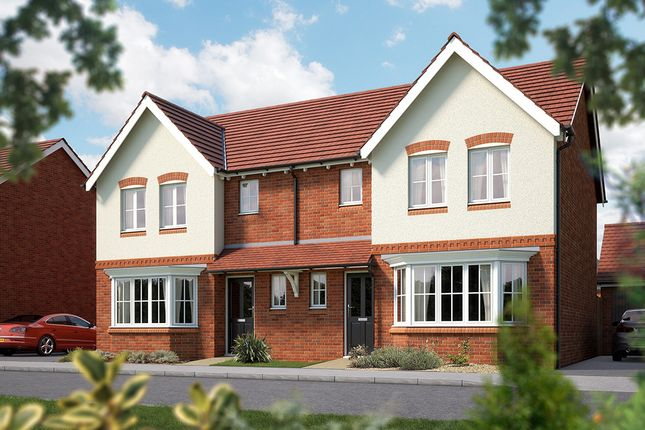 "Thumbnail Semi-detached house for sale in ""The Horton"" at Weights Lane Business Park, Weights Lane, Redditch"