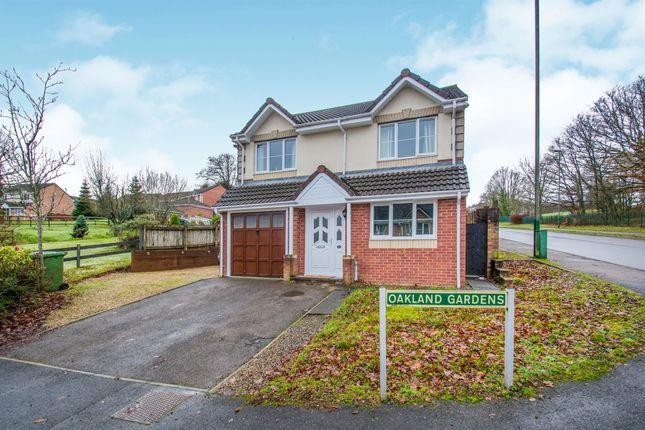 Thumbnail Detached house for sale in Oakland Gardens, Bargoed