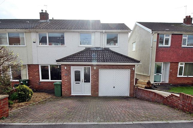 Thumbnail Semi-detached house for sale in Parkdale View, Llantrisant, Pontyclun, Rhondda, Cynon, Taff.